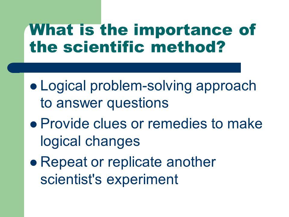 Logical Problem Solving