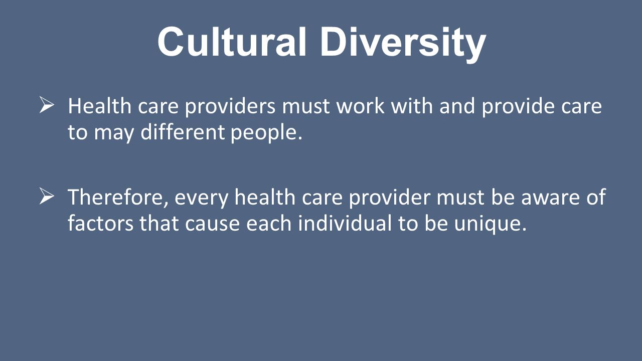 health care provider and faith diversity essay This resource addresses three major areas of cultural relevance in end-of-life care:  remember there is great diversity  to the health care provider and.