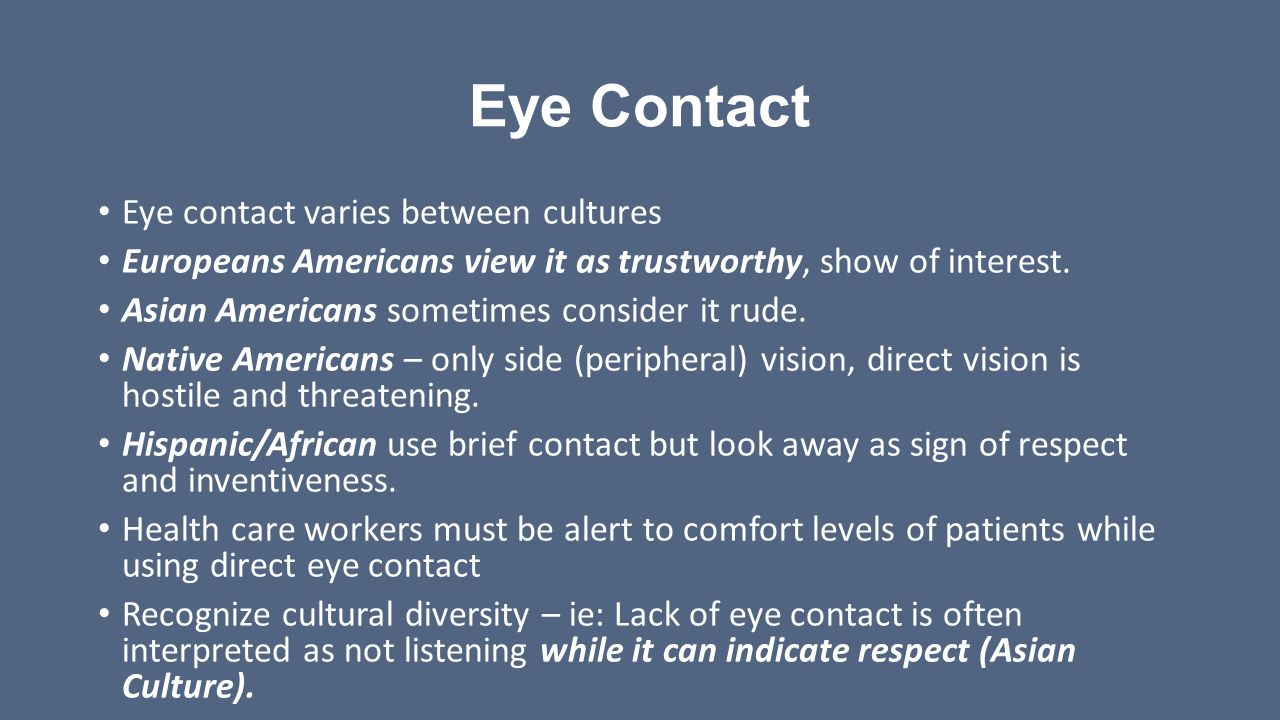 How to Make Eye Contact in a Business Setting - The