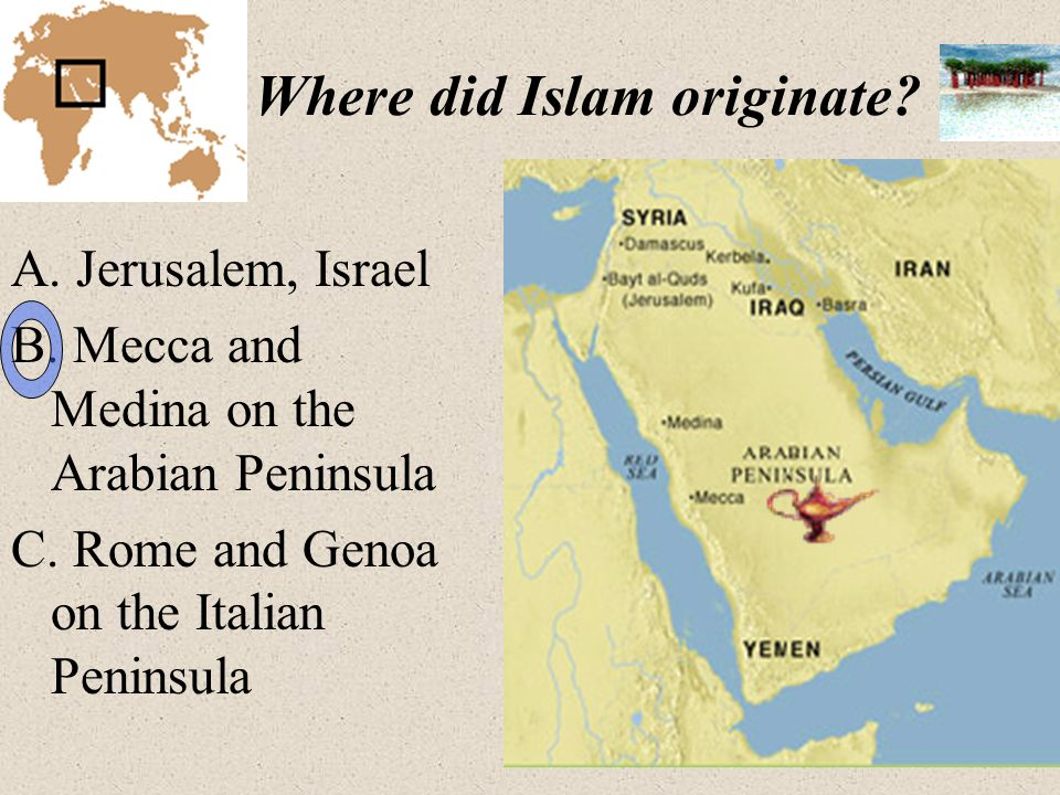 how did islam and the Only christianity has more adherents there are two main branches of islam:  sunni and shi'a the holy book of islam is the qur'an, which is written in arabic,  the.