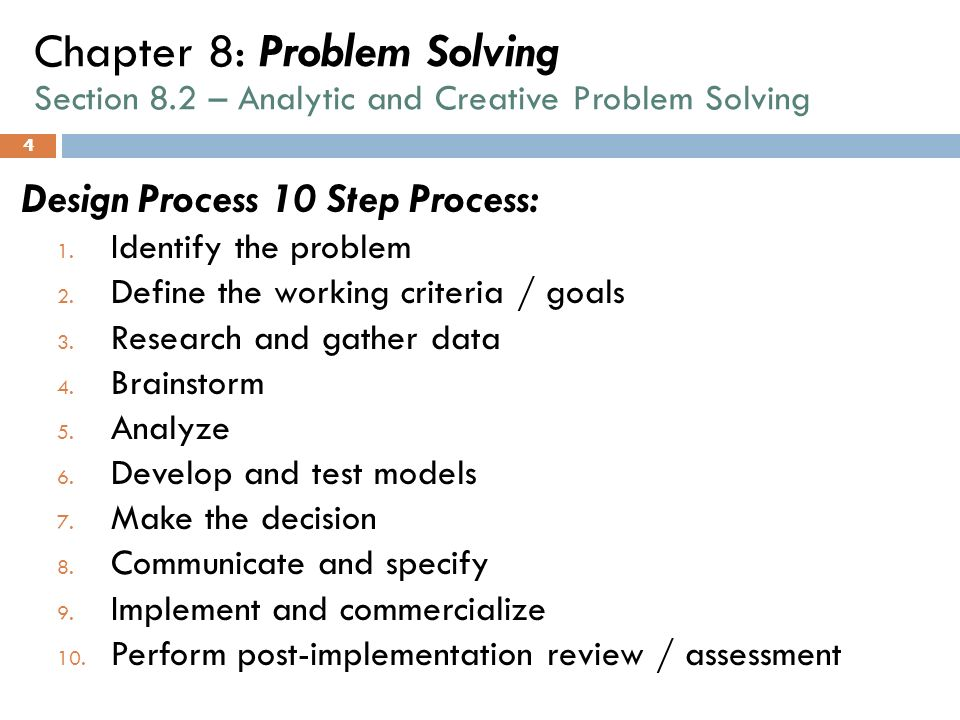 difference in problem identification and problem solving research Problem definition and research proposal:problem definition research methods formal sciences statistics business research methods: previous: problem definition and research proposal: tentative answers to the research question help in the identification of variables that could be used as.