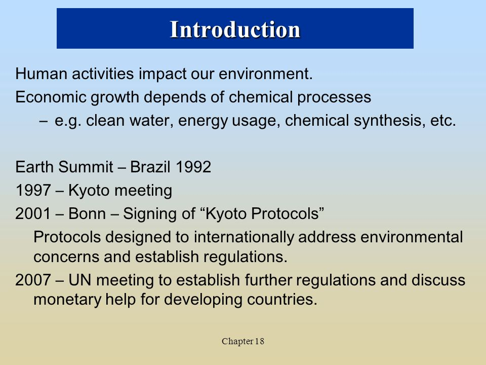 introduction to environmental economics Introduction to environmental economics - envs201 this unit is designed to provide students with an introductory exposure to environmental economics.