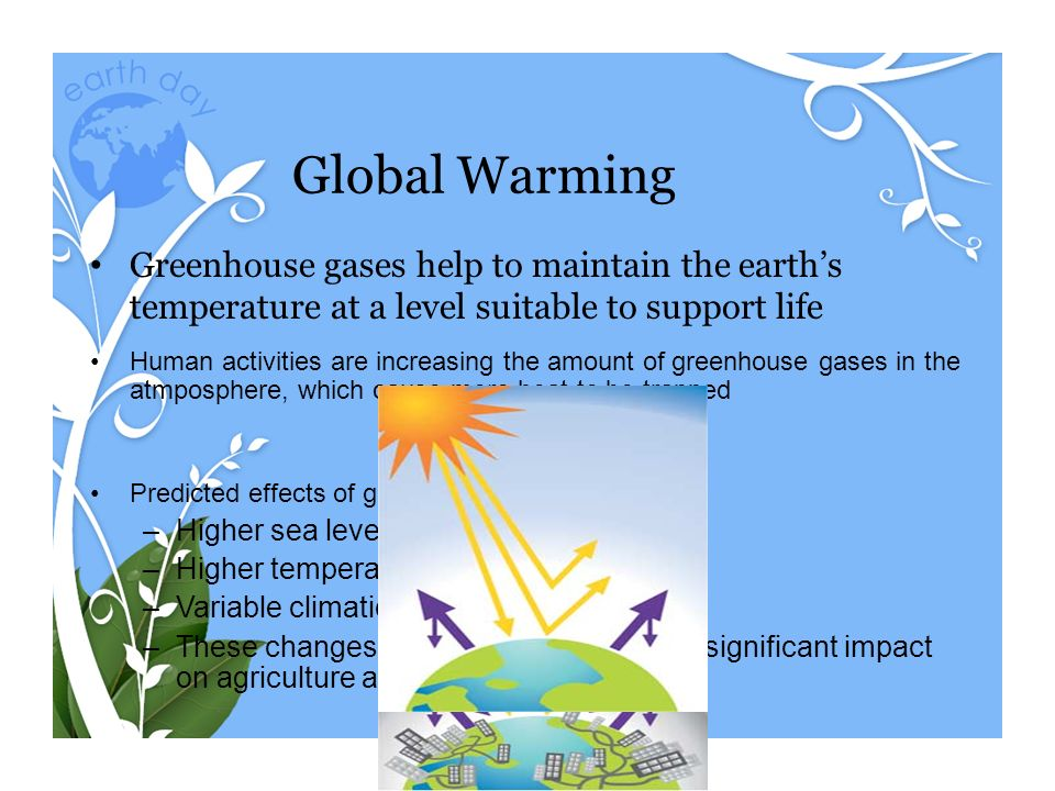 effect of global warming on agriculture pdf
