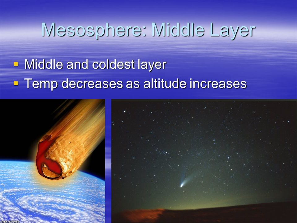 Mesosphere: Middle Layer