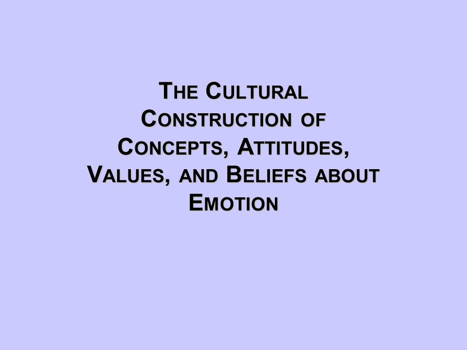Image result for emotions are culturally constructed