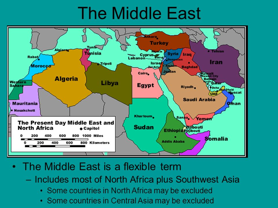 Natural Resources In Southwest Asia And North Africa
