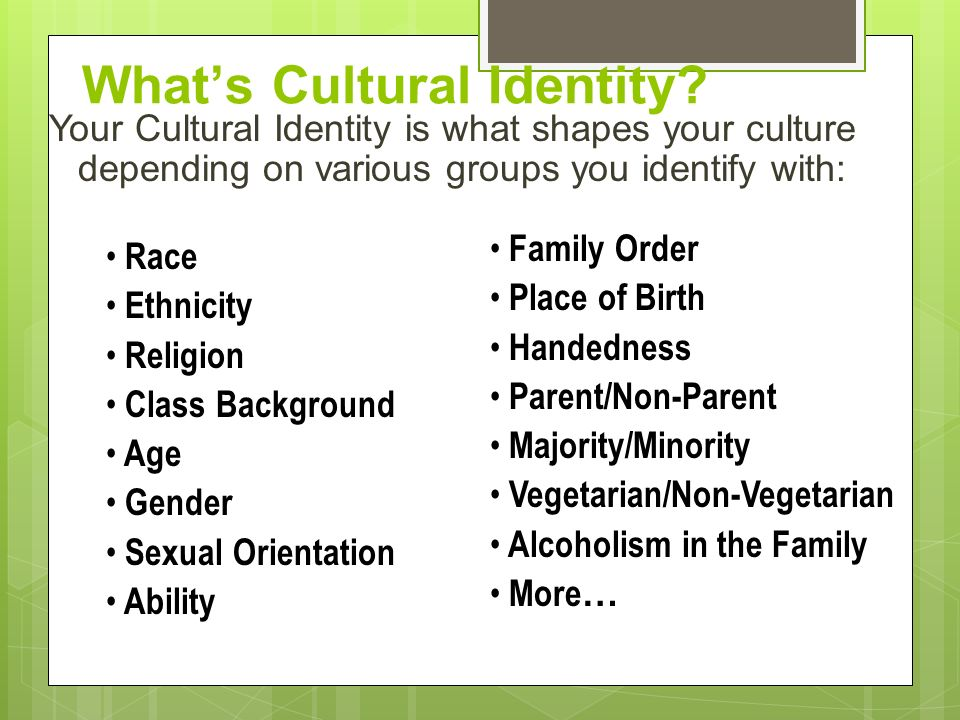 religion shapes culture and identity Religions have the power to dramatically change the culture around  religious  practices shape, and are shaped by, the culture around them.