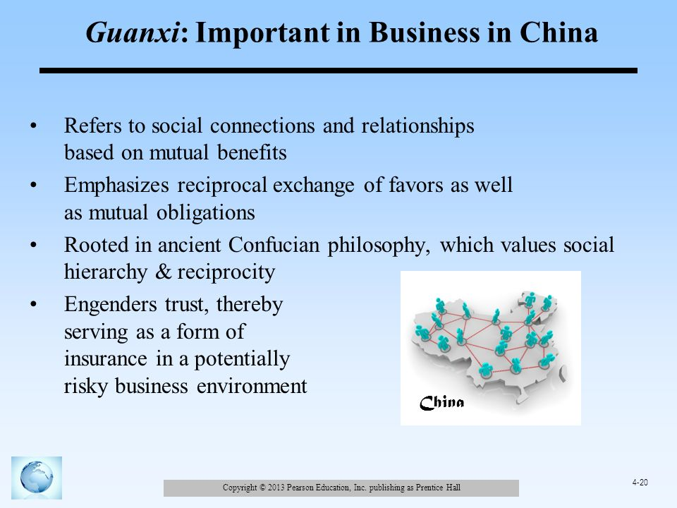 guanxi in chinese business essay The impact of guānxì in chinese business a study of swedish smes in beijing master thesis management accounting 413 guanxi and business relations.