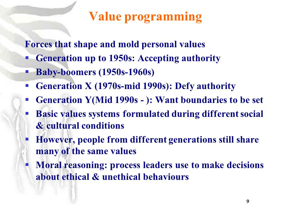 10 do values differ across generations and cultures