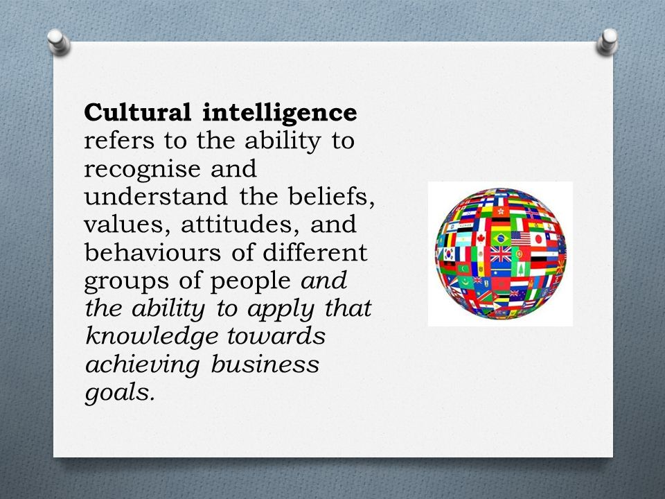 an analysis of cultural awareness on different peoples beliefs Cultural consensus theory is an approach to information pooling (aggregation, data fusion) which supports a framework for the measurement and evaluation of beliefs as cultural shared to some extent by a group of individuals cultural consensus models guide the aggregation of responses from individuals to estimate (1) the culturally appropriate.