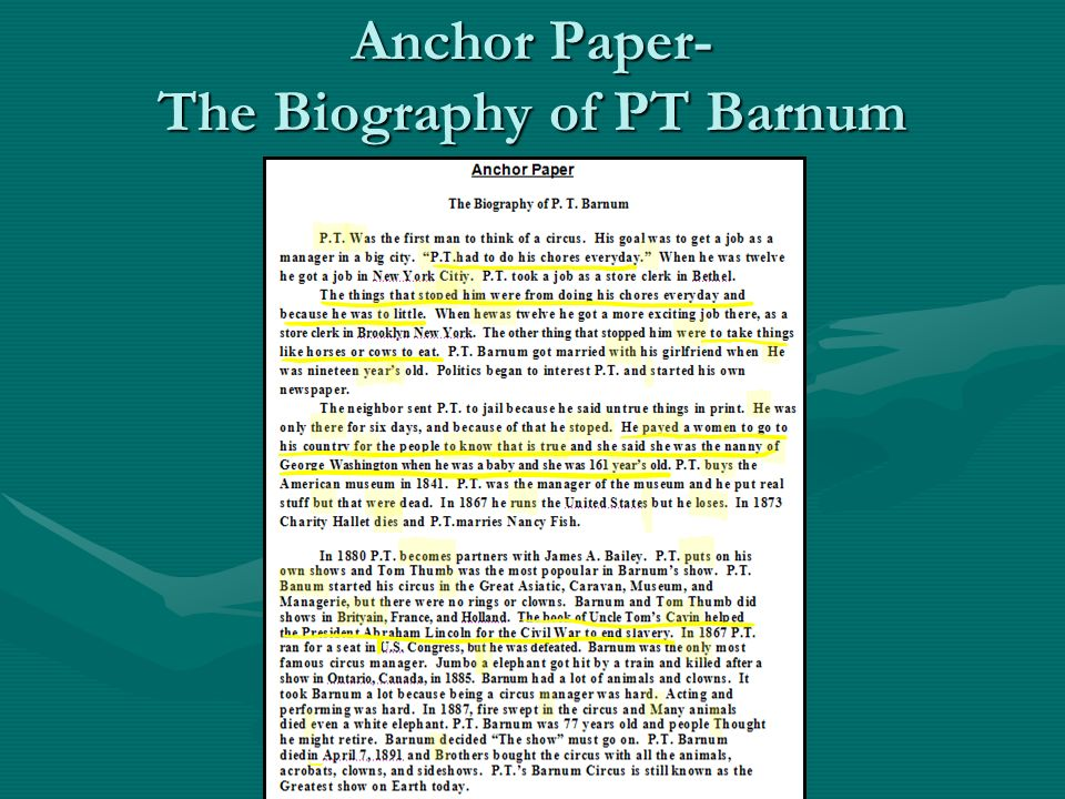 biography of pt barnum essay Jumbo's keeper: the autobiography of matthew scott and his biography of pt barnum's great elephant jumbo by scott, matthew and a great selection of similar used.