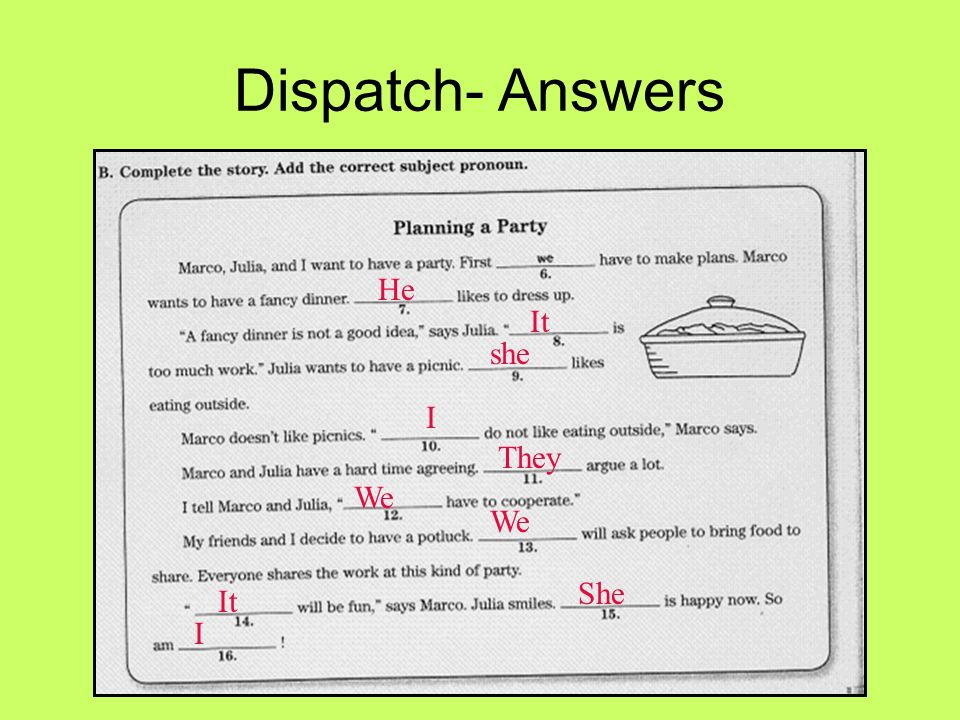 Dispatch Complete the Worksheet ppt video online download – The Stories Julian Tells Worksheets