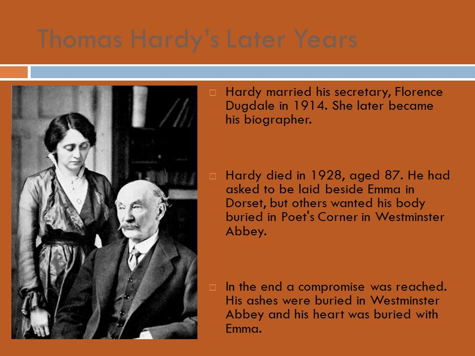 biography of thomas hardy 1 344f14png 2015-12-09t10:17:26+00:00 erica y hayes 3f35a1fa1745d530e0a3ef5bcdf163a79f5e8500 7296 46 plain 2015-12-16t14:35:20+00:00 erica y hayes 3f35a1fa1745d530e0a3ef5bcdf163a79f5e8500 victorian and english author, thomas hardy was born on june 2, 1840 in higher bockhampton, a village three.