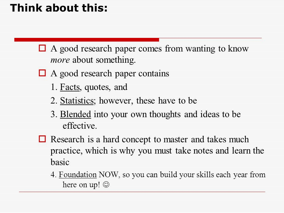 proper format for a term paper