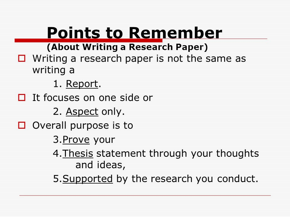 learning to love the research paper Describes the importance of creating questions to guide research, provides insight on how to develop these questions, and includes many examples.