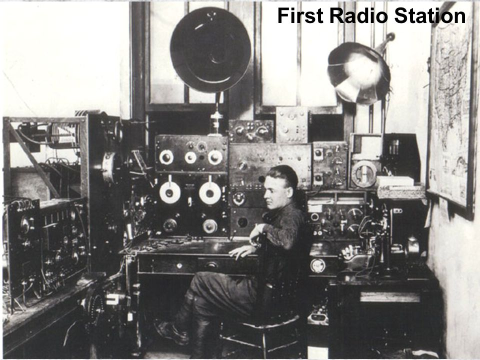 First Radio Station
