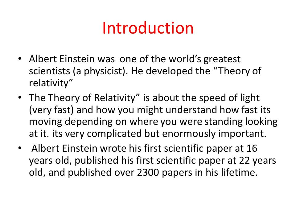 theories of relativity opinion essay Waheed ahmed the book i have chosen to complete my isp journal on is theories of relativity by barbara haworth-attard the second half of the book begins with dylan.