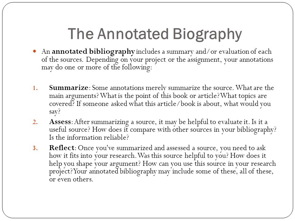 Annotated Bibliography For Sociology
