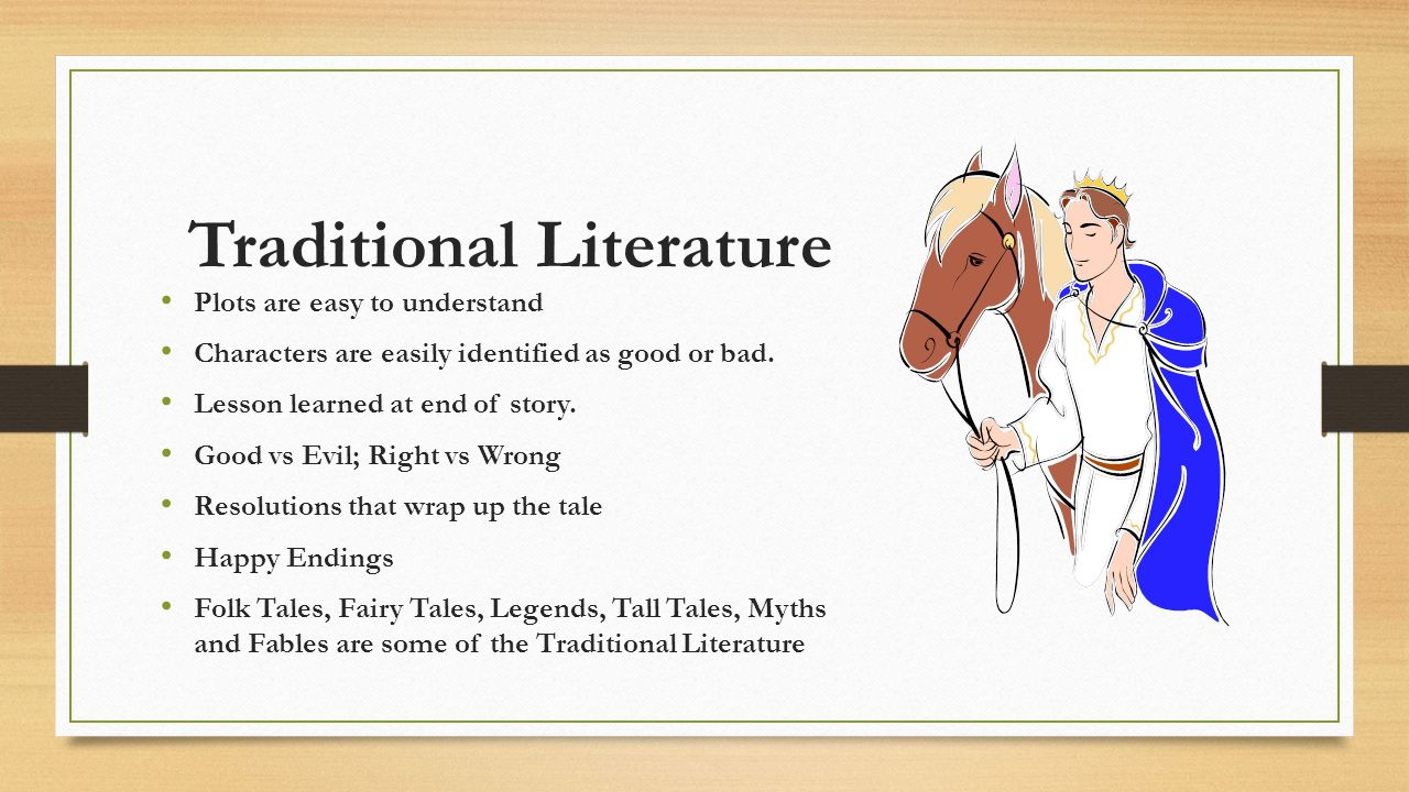 Popular Traditional Literature Books