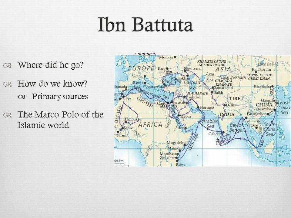 Ibn battuta marco polo essays