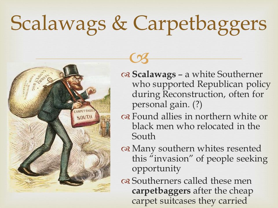 Definition Carpets And Scalawags - Beste Awesome Inspiration