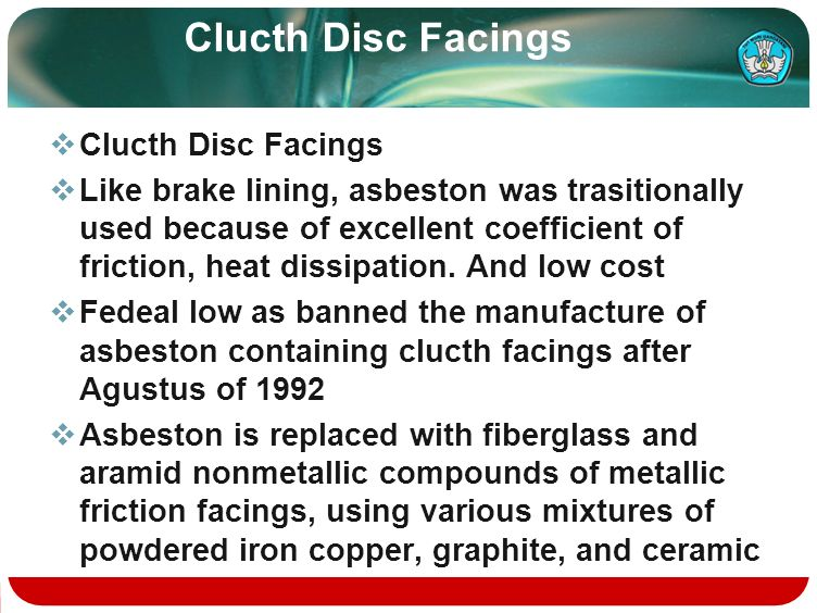 Clucth Disc Facings Clucth Disc Facings