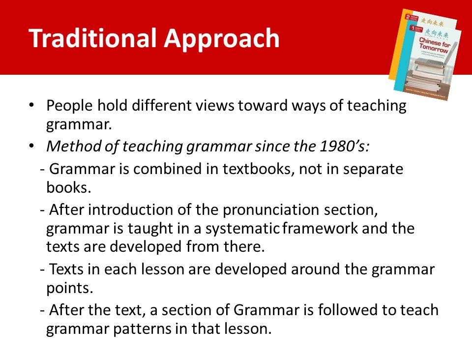 traditional method of teaching pdf