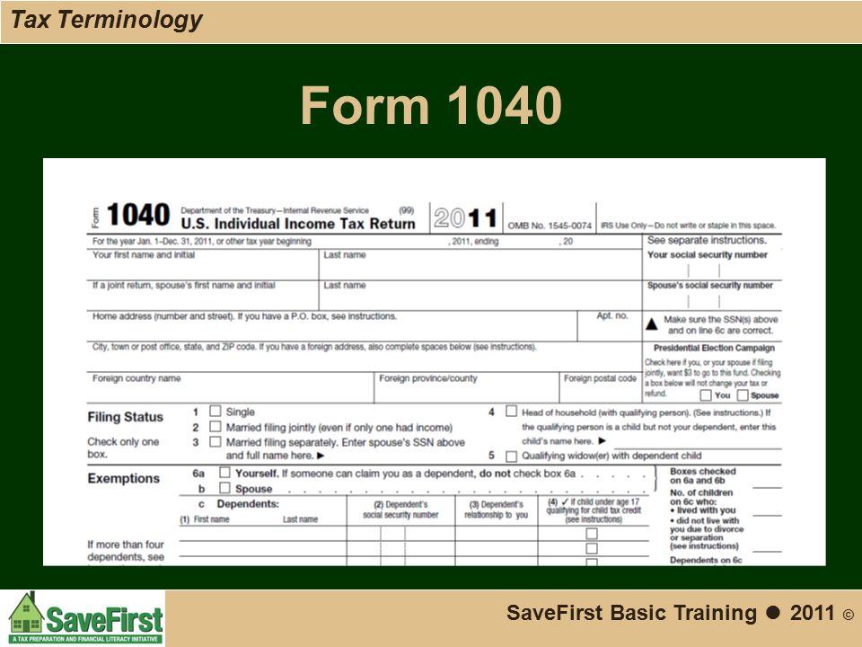 Savefirst Basic Tax Training Ppt Download