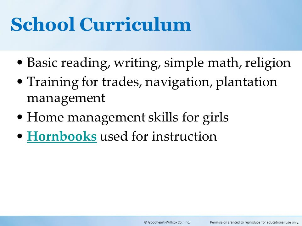 Online Curriculum for Pre-K – 12th.