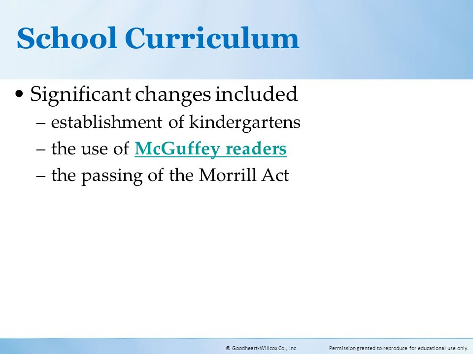 a history of curriculum changes in New key stage 3 curriculum  the schools had not made radical changes to the overall structure of their curricula, with most changes taking place within subjects.