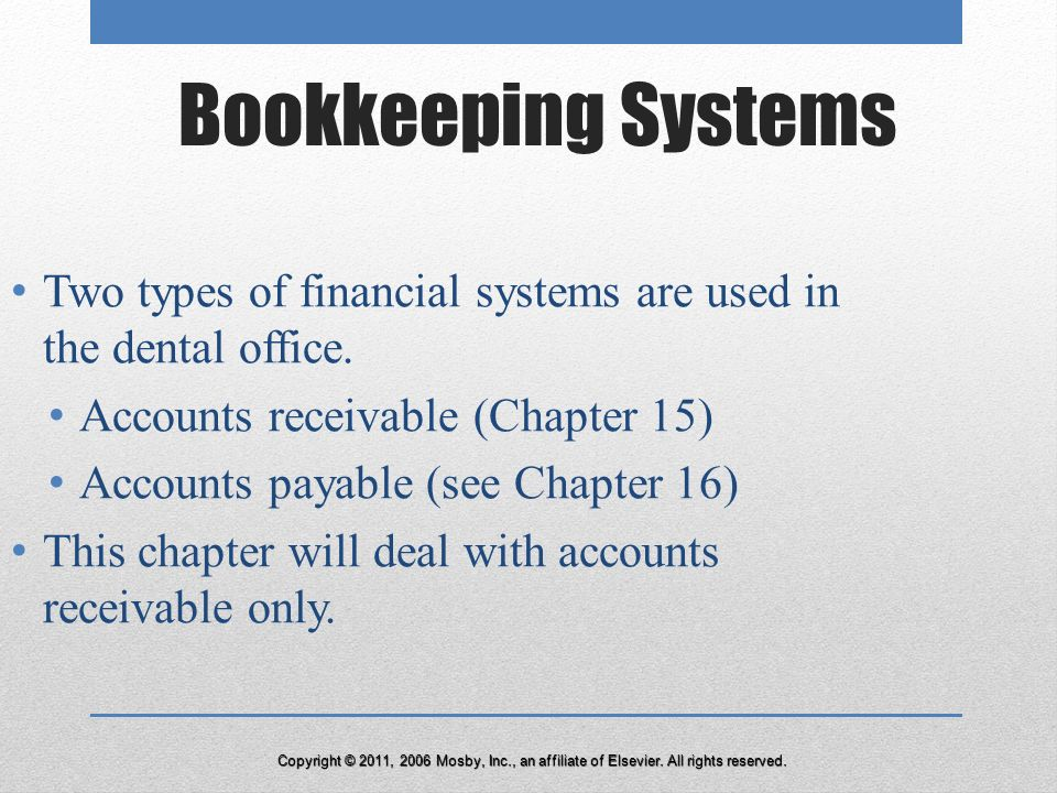 bookkeeping systems in medical office Best medical accounting software accounting needs vary greatly depending on the size and specialty of your practice regardless of these differences, one thing remains consistent: having the.