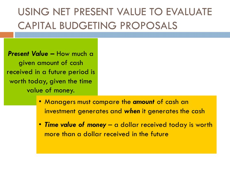 capital budgeting research proposals Capital budgeting is vital in marketing decisions  so far, the effect of inflation has not been considered on the appraisal of capital investment proposals.