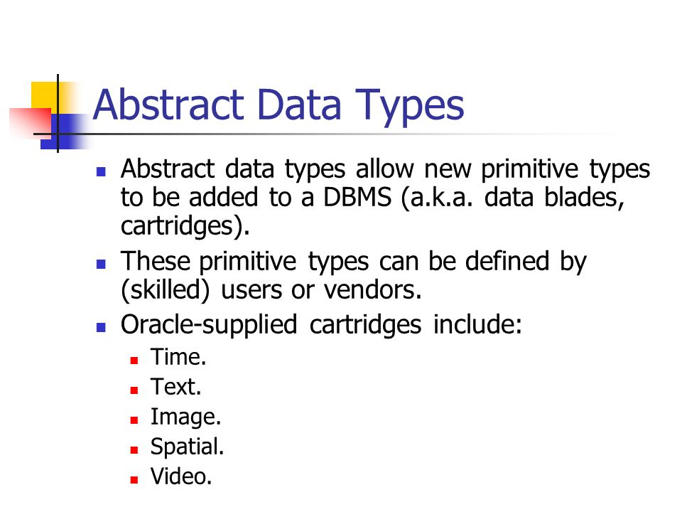 cs331  advanced database systems  object databases
