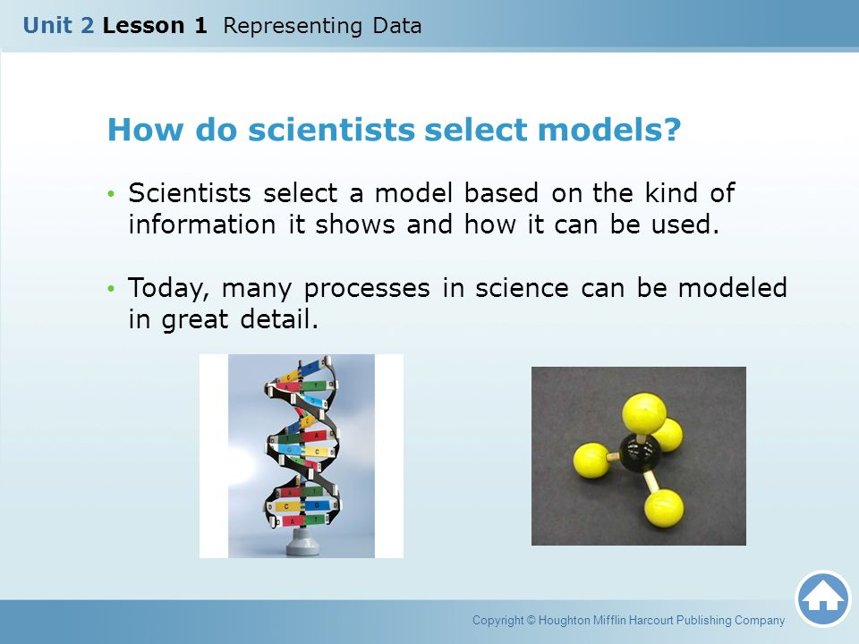 How do scientists select models