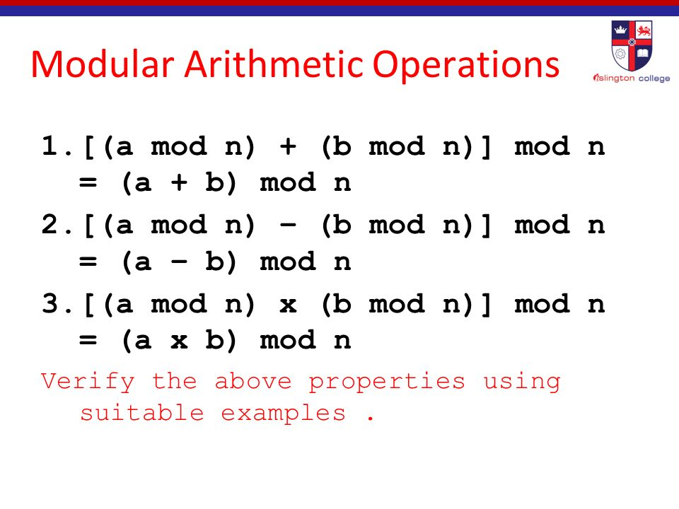 modular arithmetic problems and solutions pdf