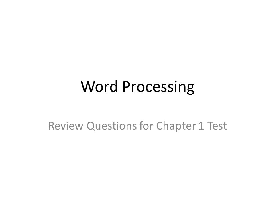 jeter chapter one test questions View test prep - test bank for advanced accounting 4th edition jeter, chaney from accounting 532 at texas a&m university–central texas chapter 2 accounting for business combinations multiple.