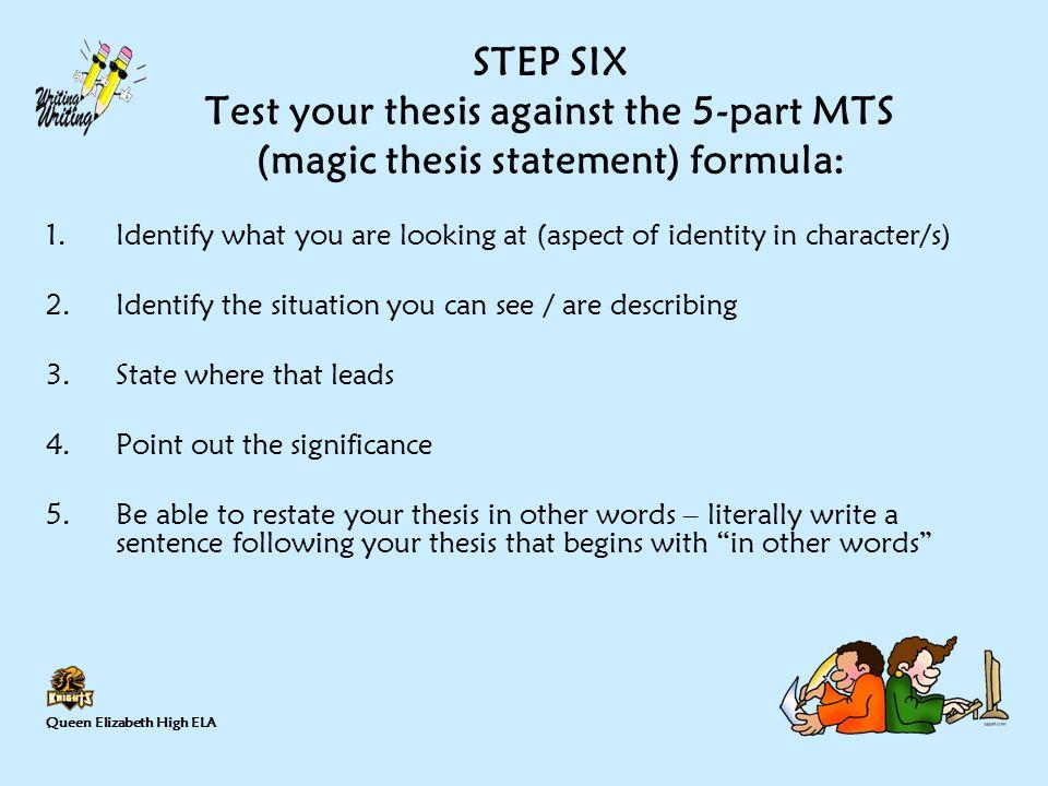 Write my an essay on identity