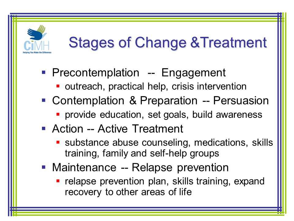 treatment and relapse strategies Relapse prevention strategies  addiction recovery treatment can give those struggling with substance abuse the tools and skills they need to create and stick to.