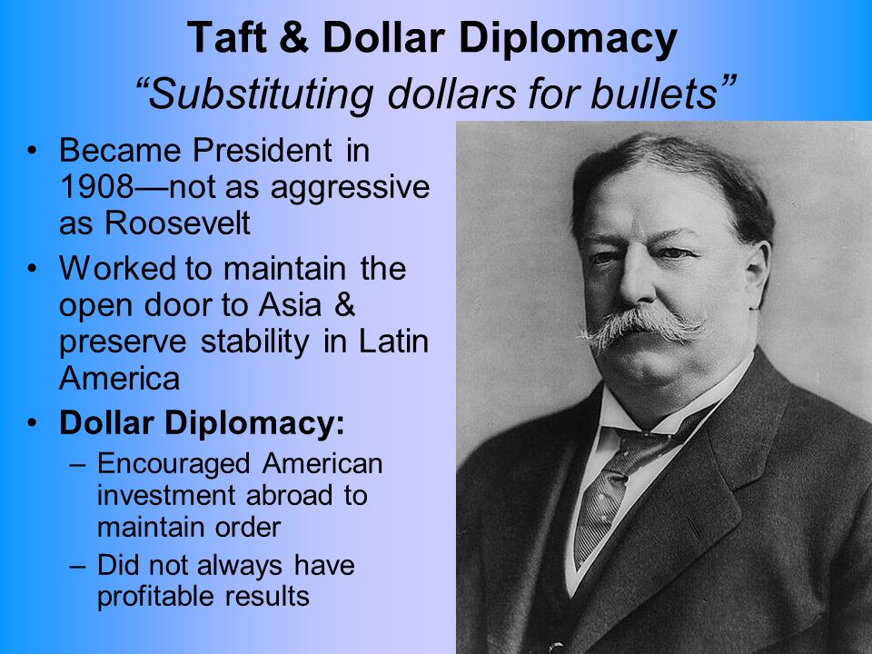 dollar diplomacy essay What was taft's dollar diplomacy follow  2 answers 2 report abuse  the question for my history essay is 'what was the holocaust.