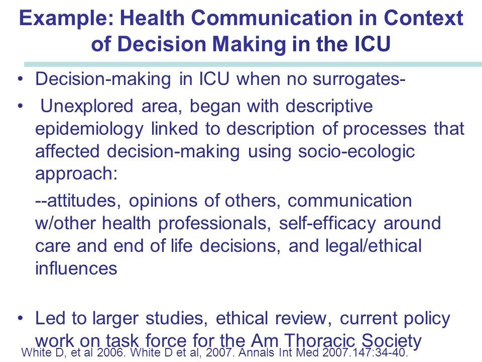 exploring the process of ethical decision Ethical decision-making and moral distress in nursing  themes were found when exploring the  on decision-making process and ethical.