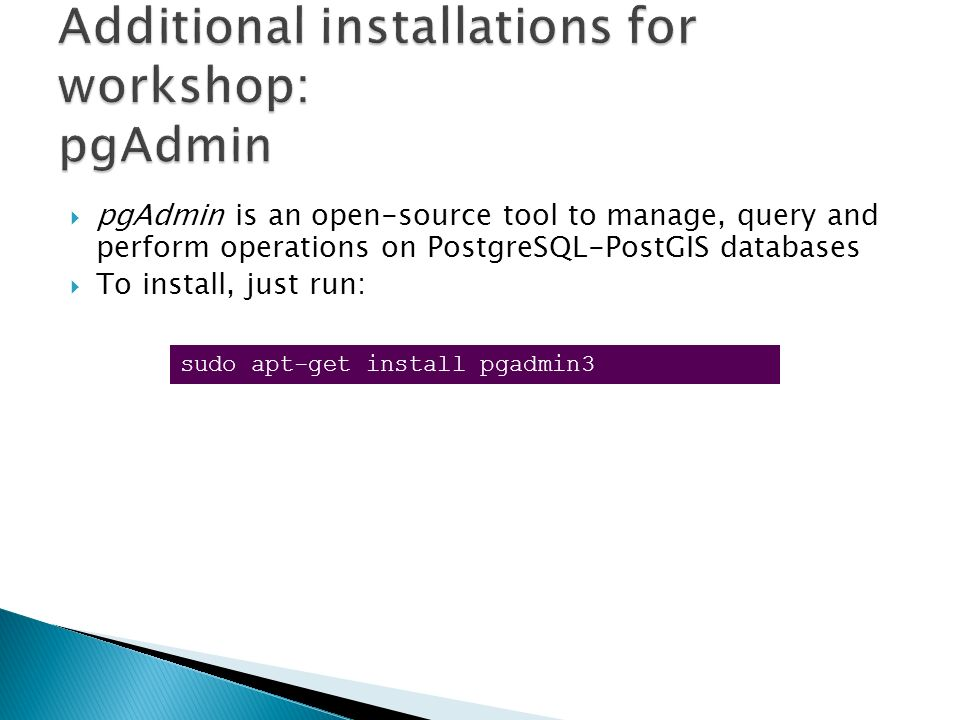 Pgadmin3 Installation Guide - ebookinstalsea