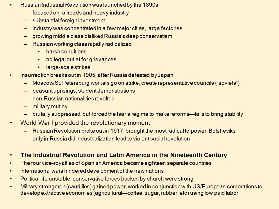 the forces that brought social and economic revolution in russia In the years leading up to the russian revolution of 1917, the country had a   also, he didn't understand the forces of industrialization and nationalism that  of  1917, it was clear that the main social and economical problems that caused the .