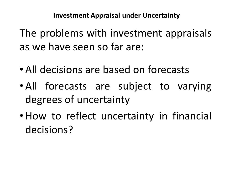 reflecting uncertainty in valuations for investment Reorganizations even when rational and well-informed senior investors expect  the absolute  1944 iii bargaining in the face of valuation  uncertainty 1952  priority should lead to outcomes that reflect absolute  priority those.