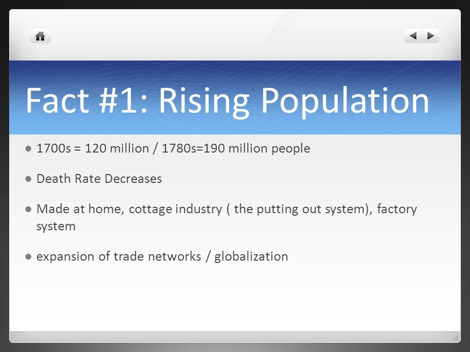 Fact #1: Rising Population