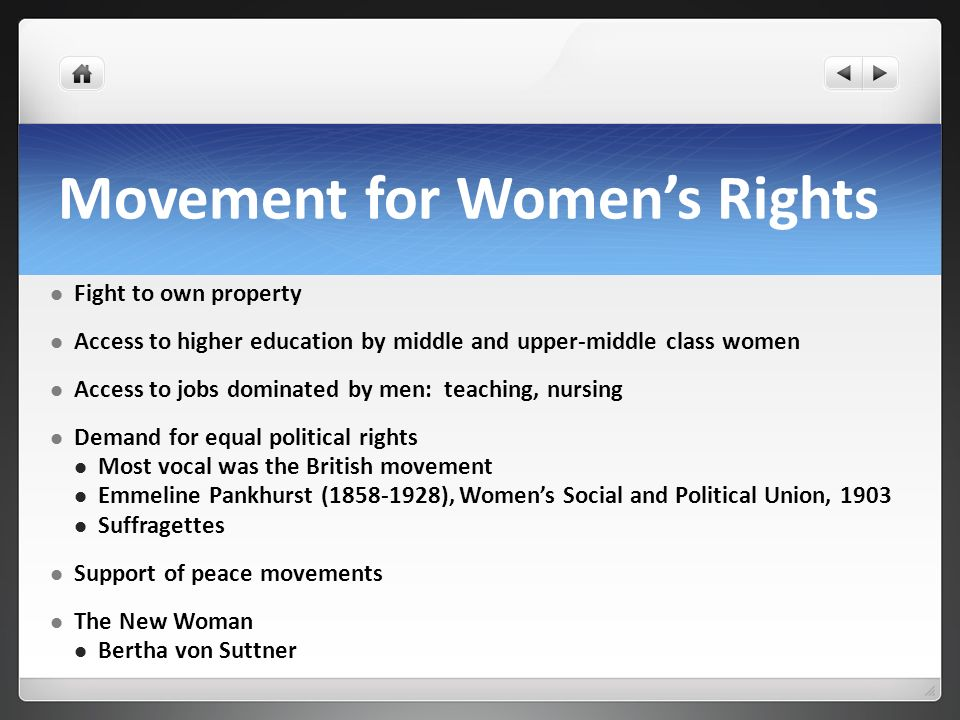 Movement for Women's Rights