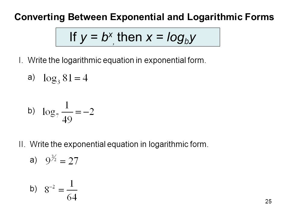 Solving Exponential and Logarithmic Equations - SAS
