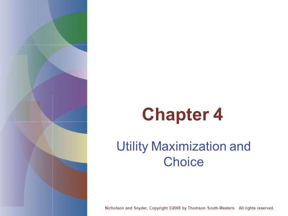 utility maximization Utility maximization utility deals with the total benefit an individual receives whereas marginal utility has to do with the benefit an additional item gives marginal utility per dollar is the marginal utility of a good divided by the price of the good (mux/px.
