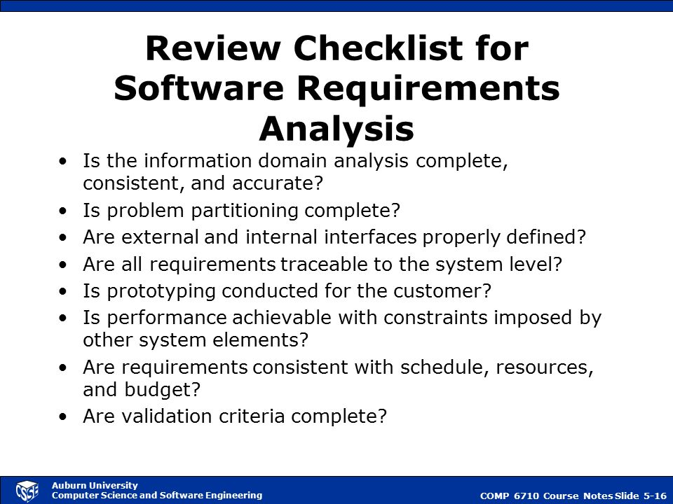 What is software quality ppt video online download for Office design requirements checklist