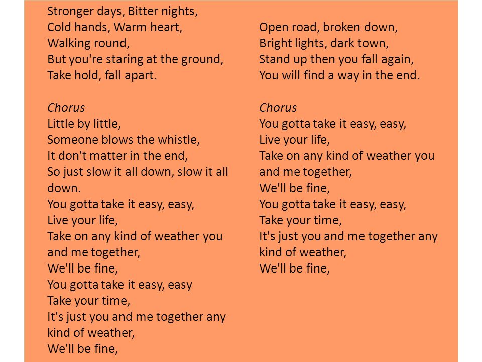 Watch me as i fall lyrics