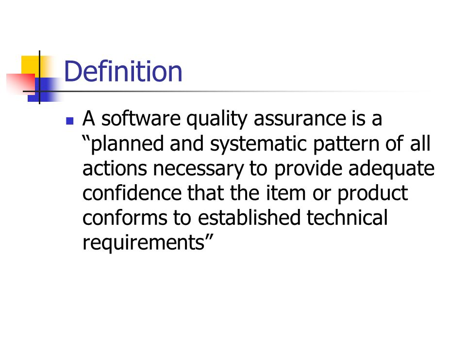 quality assurance case study essay Toyota invest in 1tech's process engineering expertise this case study describes how one of the world's most innovative their own job and quality assurance.